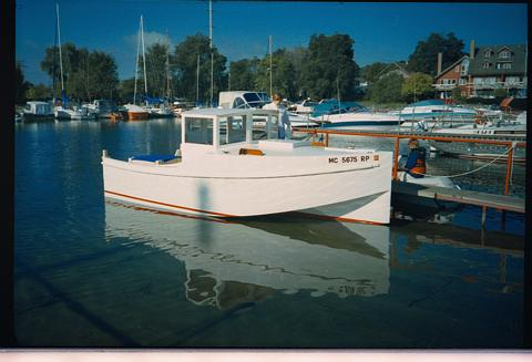 Has This Been Tried Archive The WoodenBoat Forum - Bolger micro trawler boats
